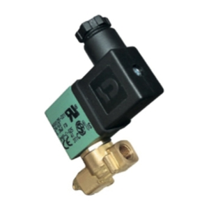 "1/8"" Screwed BSPP 3/2 Normally Closed Polyamide Solenoid Valves 24VAC/50-60Hz NBR Buna 18900032245060 0-10 Air"