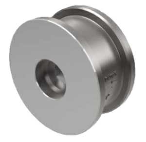 "1.5"" Nickel Alloy A494 CW-12MW Sprung Disc Wafer Check Valve Metal-Metal ANSI 150 040-775XM-2BUK"
