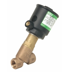"1/2"" Screwed BSPT 2/2 Normally Closed Bronze Pressure Operated Valves PTFE E290A384VM 0-10 Air"