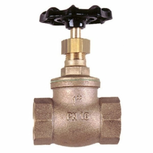 "1"" Bronze Standard Globe Valves Screwed BSPP Handwheel PTFE PN16"