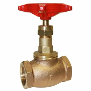"0.75"" Bronze Standard Globe Valves Screwed BSPT Handwheel PTFE PN32 BS5154 Series B/NM"