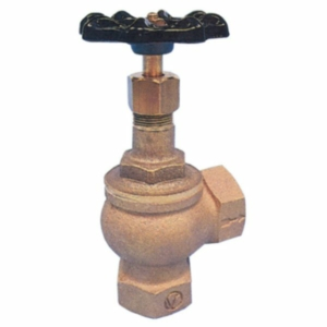 "0.5"" Bronze Angle Pattern Globe Valves Screwed BSPP Handwheel PTFE PN16"