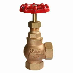 "0.5"" Bronze Angle Pattern Globe Valves Screwed BSPP Handwheel PTFE PN25 BS21"