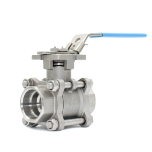 "1"" Socket Weld 3 PCE Full Bore Stainless Steel Ball Valves Lever Operated PTFE TFM 1600 1000 PSI Atex Approved SIL Rated Locking Lever Direct Mount Wras Approved Seat Anti Static Blow Out Proof Stem Silicone Free"