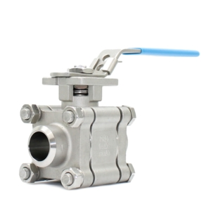 ".25"" Butt Weld 3 PCE Full Bore Stainless Steel Ball Valves Lever Operated PTFE TFM 4215 2000 PSI Atex Approved Firesafe API 607 5th Ed 2005 SIL Rated Locking Lever Direct Mount Wras Approved Seat Anti Static Blow Out Proof Stem Silicone Free"