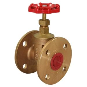 "0.75"" Flanged PN16 Bronze Gate Valves Standard Handwheel PN16 CV1151-DN0020"