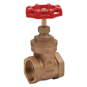 "0.5"" Screwed BSPP Bronze Gate Valves Standard Handwheel PN20 CV1520-DN0015"