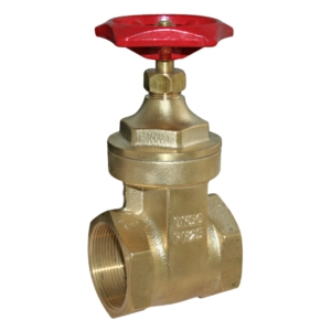 "0.75"" Screwed BSPT Brass Gate Valves Standard Handwheel PN25 Was Approved CV2020-DN0020"