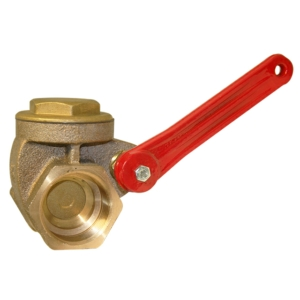 "2"" Screwed BSPP Brass Gate Valves Standard Lever PN16 CV2100-DN0050"