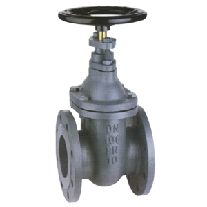 "4"" Flanged PN16 Cast Iron GG25 Gate Valves Inside Screw-Non Rising Stem Handwheel PN10 DIN 3202 F4 CV5105-DN0100"