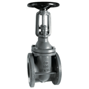 "4"" Flanged PN16 Cast Iron GG25 Gate Valves Wedge & Yoke-Rising Stem Handwheel PN10 DIN 3202 F4 CV5130-DN0100"
