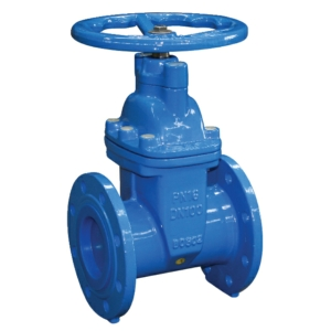 "4"" Flanged PN16 Ductile Iron Gate Valves Standard Handwheel PN16 Wras Approved Clockwise Closing CV5140-DN0100"