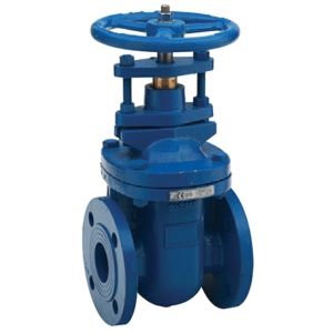 "3"" Flanged PN16 Ductile Iron Gate Valves Inside Screw-Non Rising Stem Handwheel PN16 BS5150 (EN1171) CV5160-DN0080"