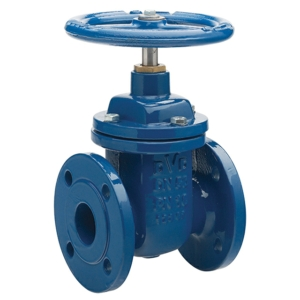 "12"" Flanged PN16 Ductile Iron Gate Valves Inside Screw-Non Rising Stem Handwheel PN16 BS EN 1092-2 BS 5163 PT 1 & 2:2004 Wras Approved CV5163-DN0300"