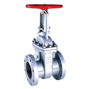 "1.5"" Flanged ANSI 150 Stainless Steel Gate Valves Rising Stem Handwheel Class 150 CV6665-DN0040"