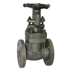 "0.5"" Flanged ANSI 300 RF A105N Carbon Steel Gate Valves Outside Screw & Yoke-Rising Stem Handwheel Class 300 API 602 CV7745-DN0015"