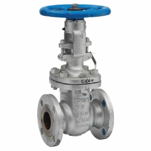 "3"" Flanged ANSI 300 RF A216 Carbon Steel Gate Valves Outside Screw & Yoke-Bolted Bonnet Handwheel Class 300 API 600 CV7805-DN0080"