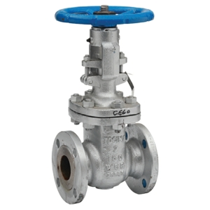 "4"" Flanged PN16 A216 Carbon Steel Gate Valves Outside Screw & Yoke-Bolted Bonnet Handwheel Class 150 API 600 CV7880-DN0100"