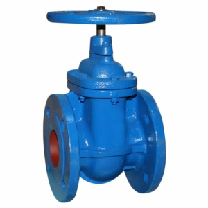 "2.5"" Flanged PN16 Cast Iron Gate Valves Inside Screw-Non Rising Stem Handwheel PN16 DIN 3202 F4 CV9981-DN0065"