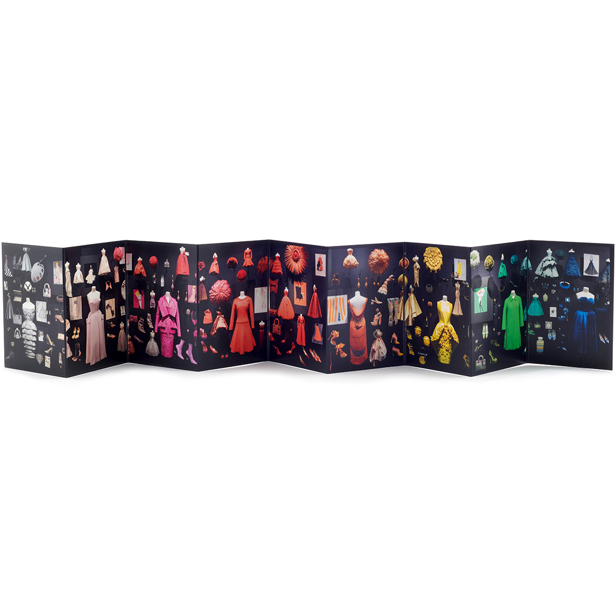 Diorama – mini concertina print