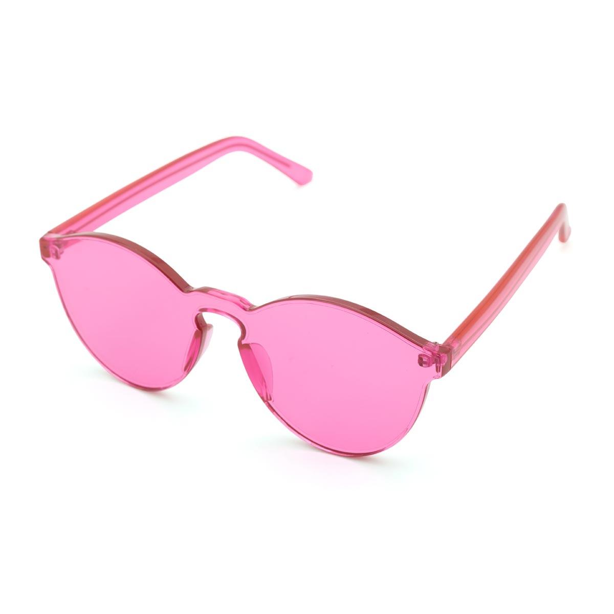 Pink Rimless Glasses : Pink Rimless Sunglasses
