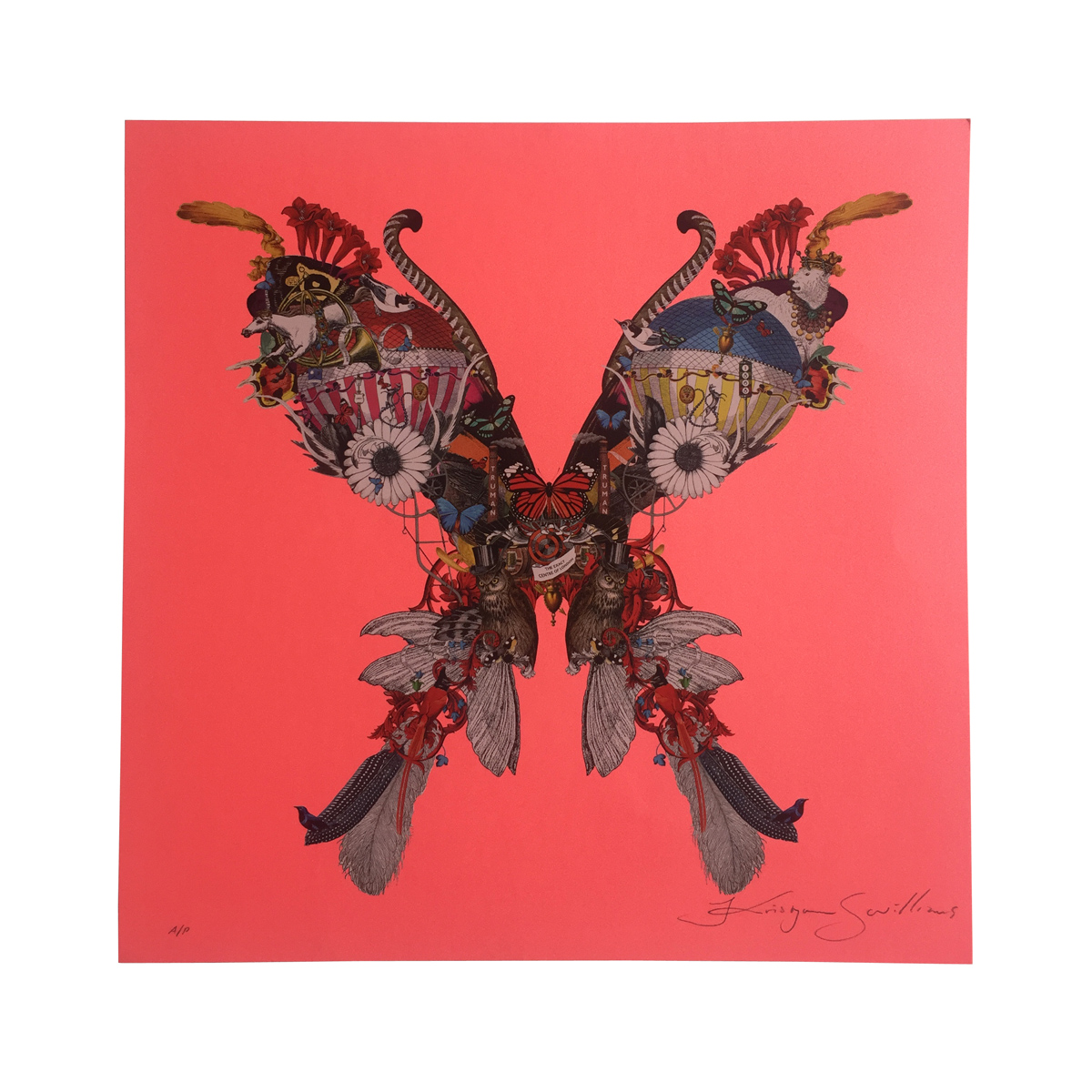 V&A Lundunar Moth by Kristjana Williams