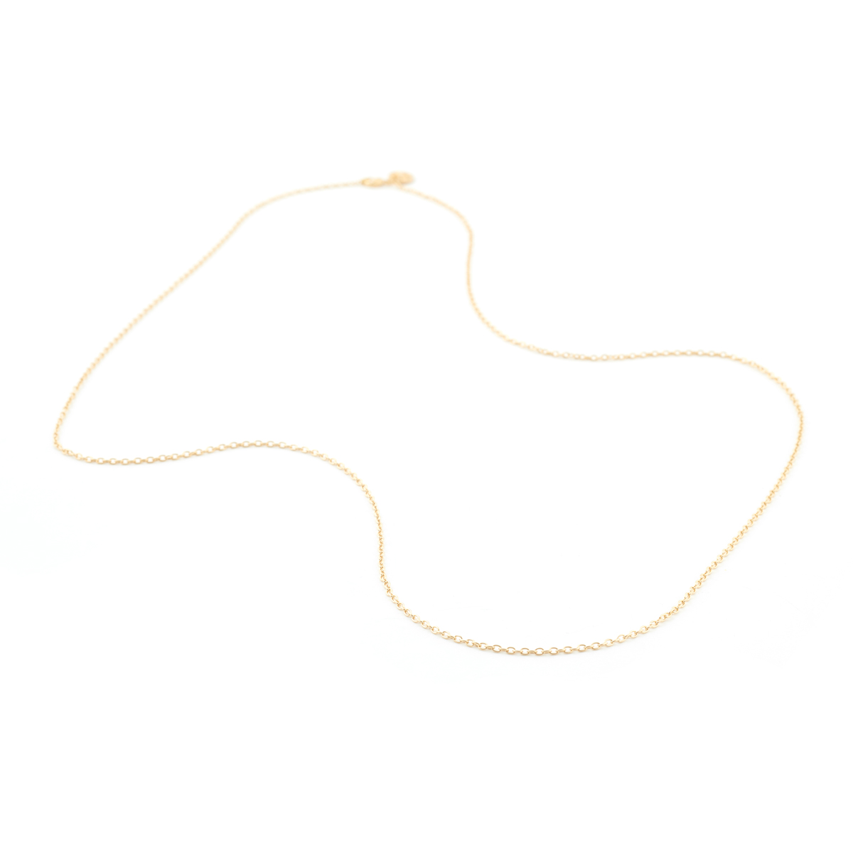 Simple chain necklace by Mirabelle – 80cm