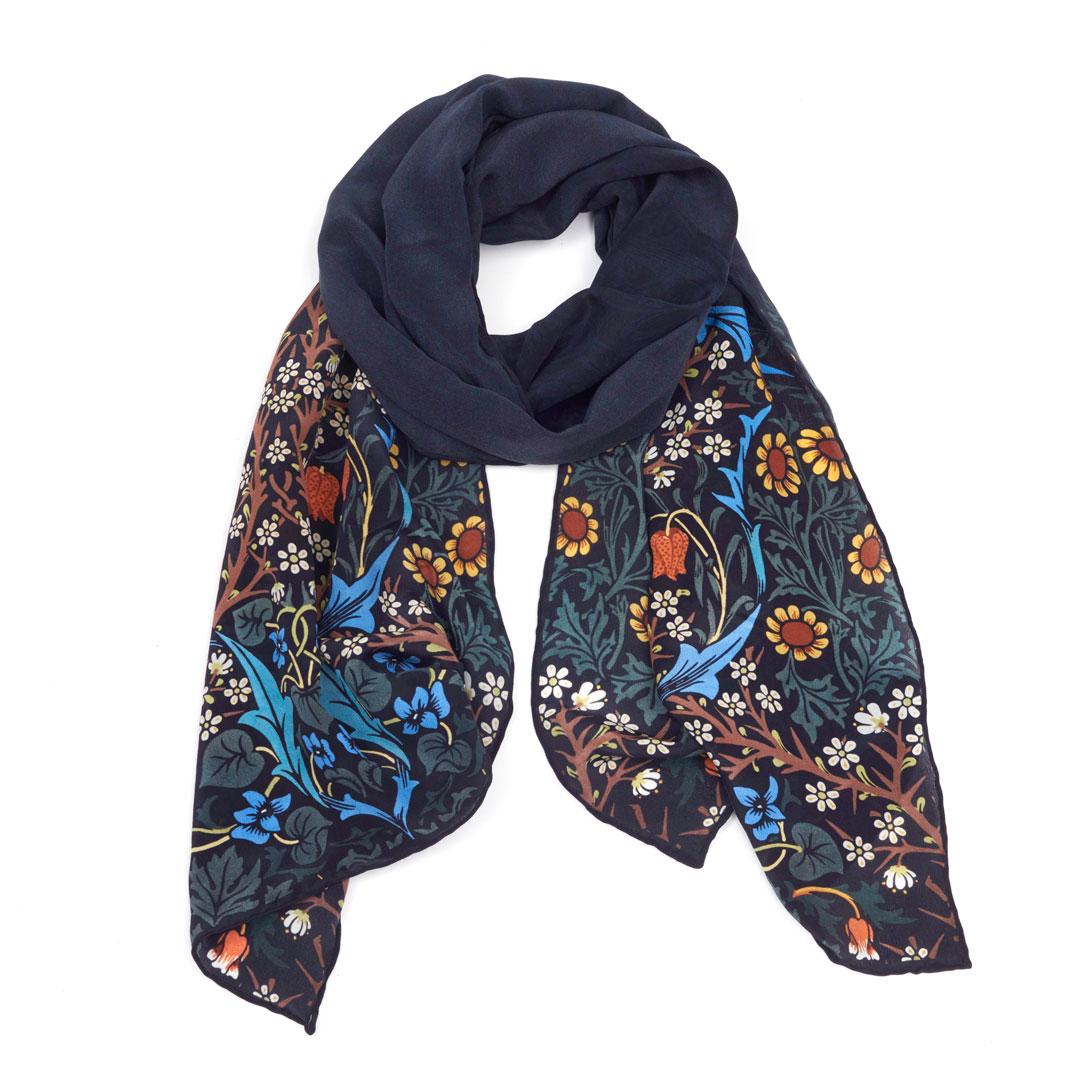 V&A Blackthorn crepe scarf