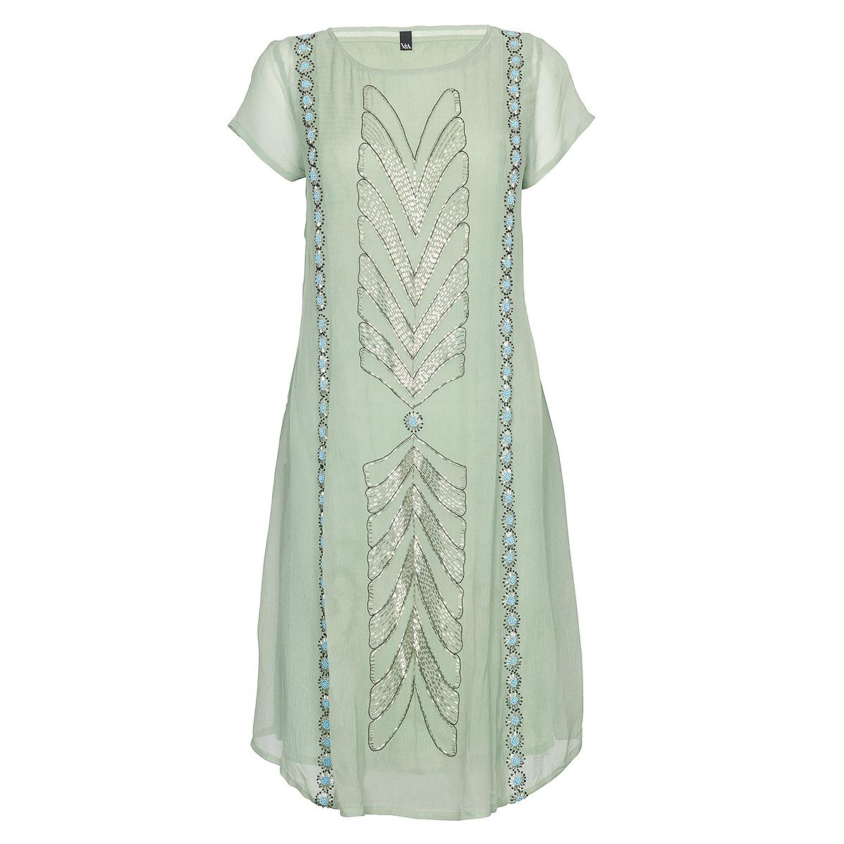 V&A Art Deco dress