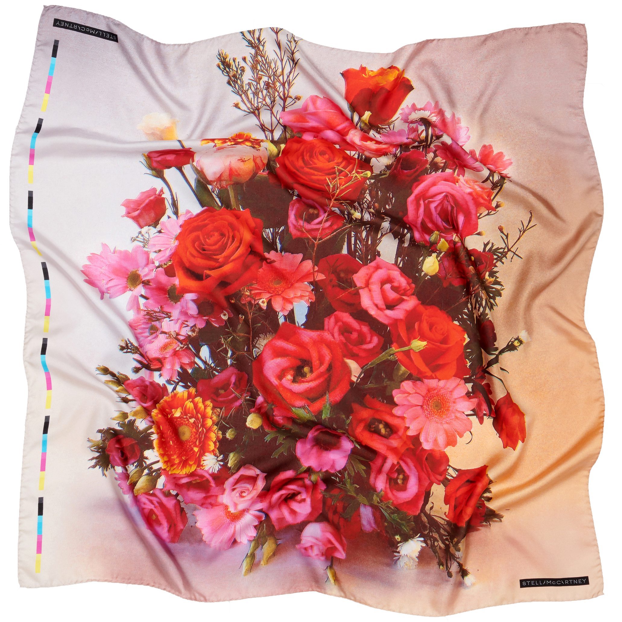 Rose bouquet scarf by Stella McCartney