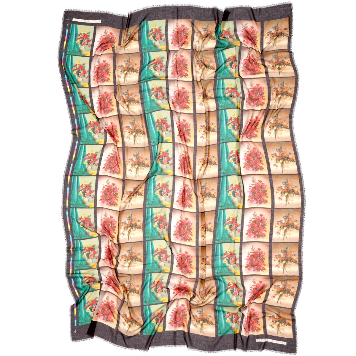 Flower print scarf by Stella McCartney