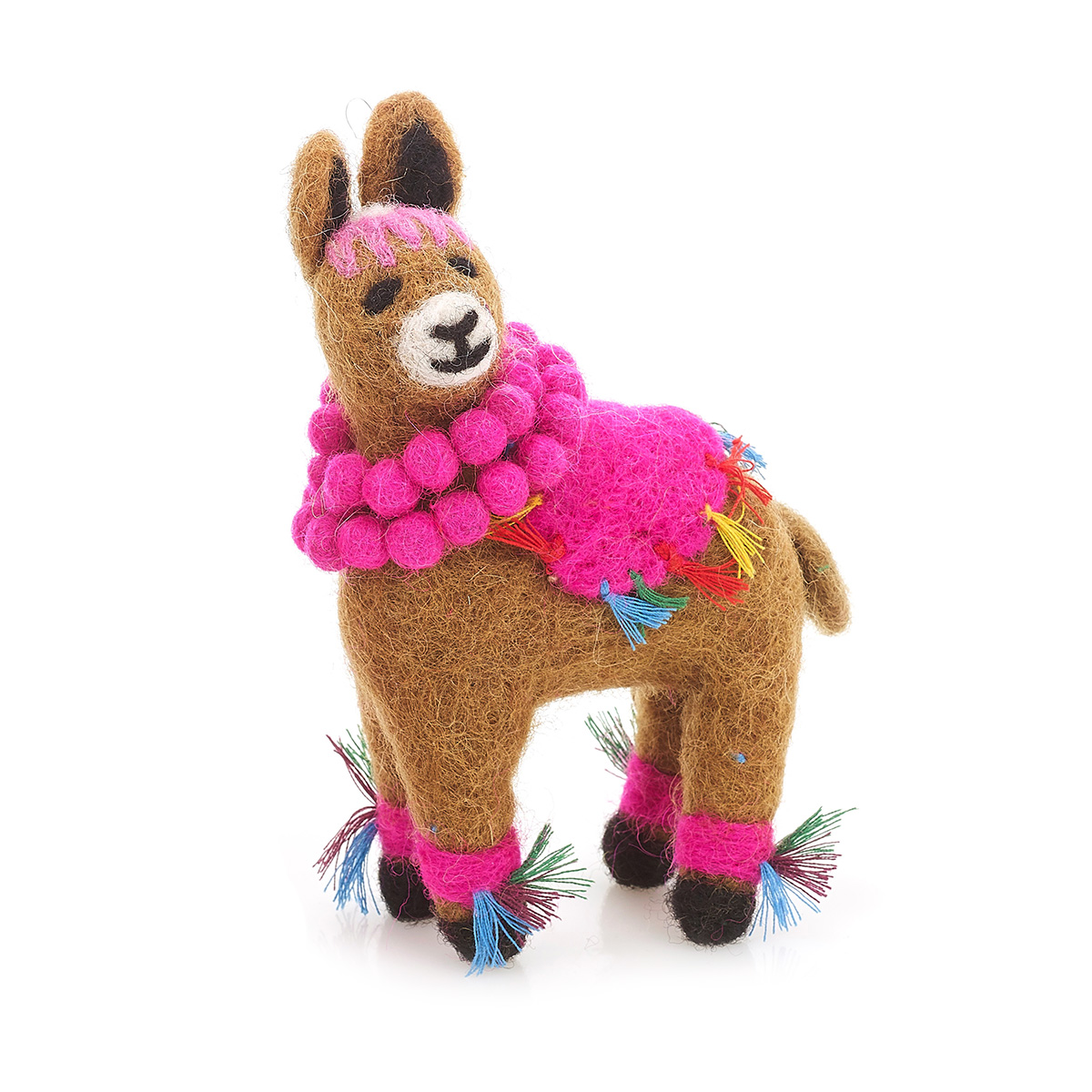 christmas tree llama decoration