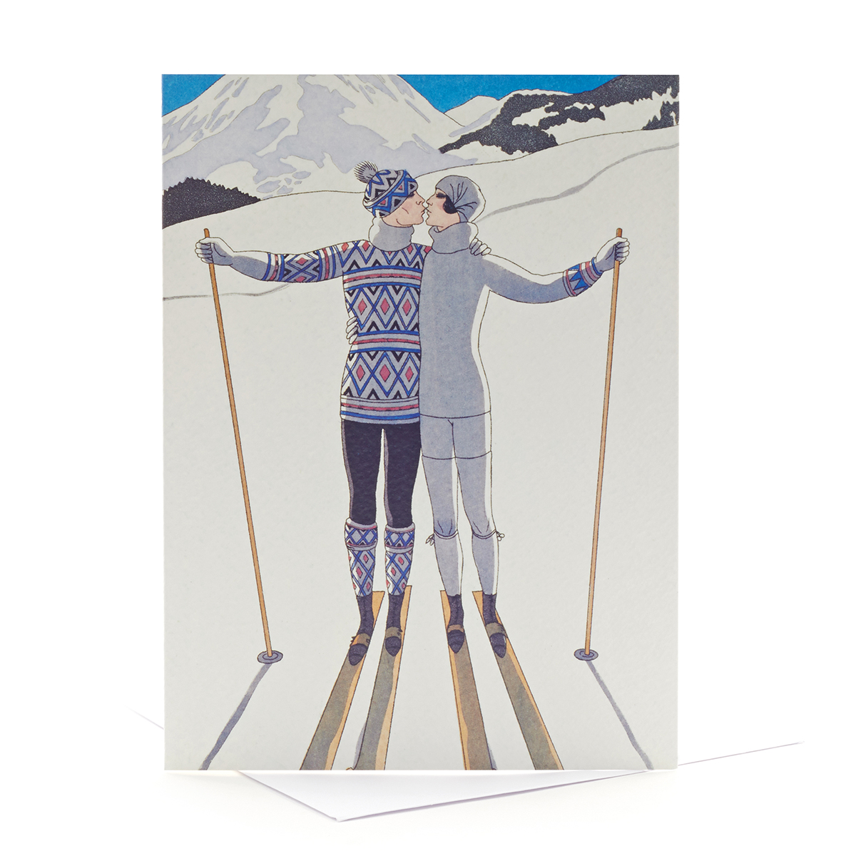 V&A Christmas cards – L'Hiver (pack of 8)