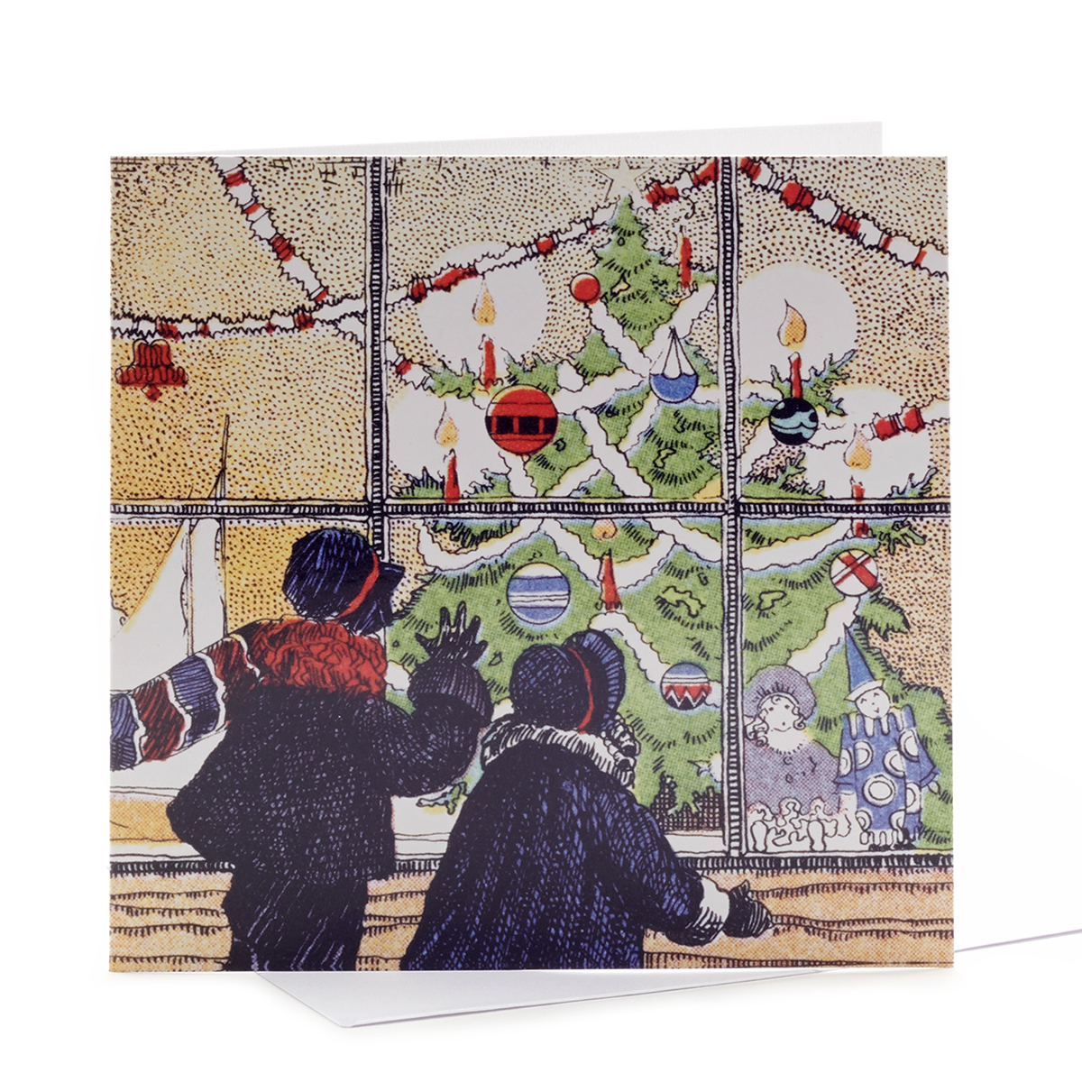 V&A Christmas cards - Toy shop window (pack of 8)