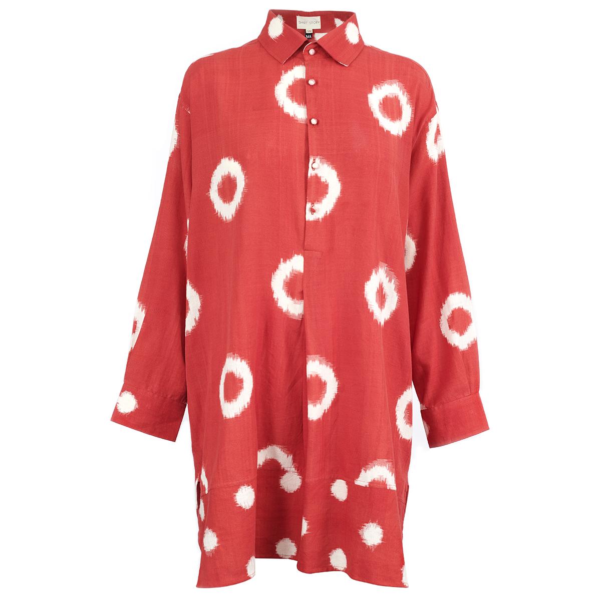 Ikat shirt by Susan Benn