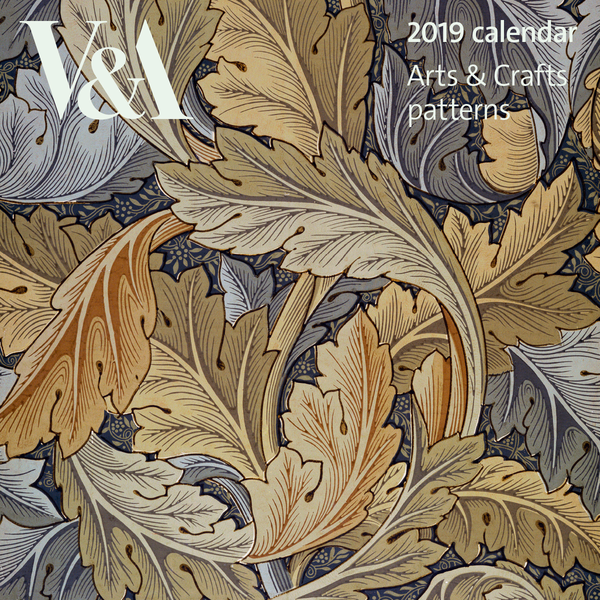 V&A 2019 Arts and Crafts calendar