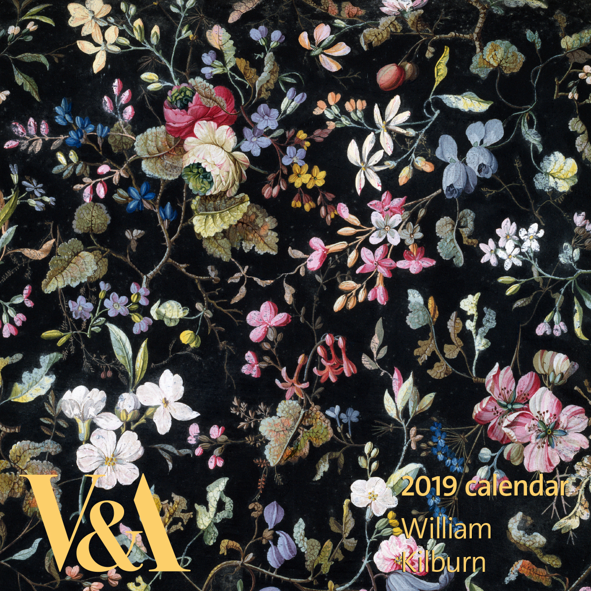 V&A 2019 William Kilburn calendar