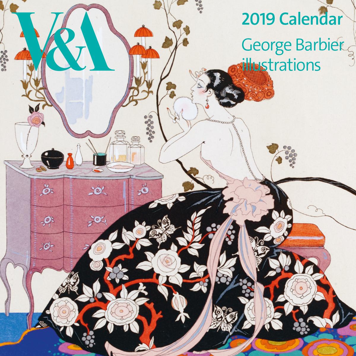 V&A 2019 George Barbier calendar