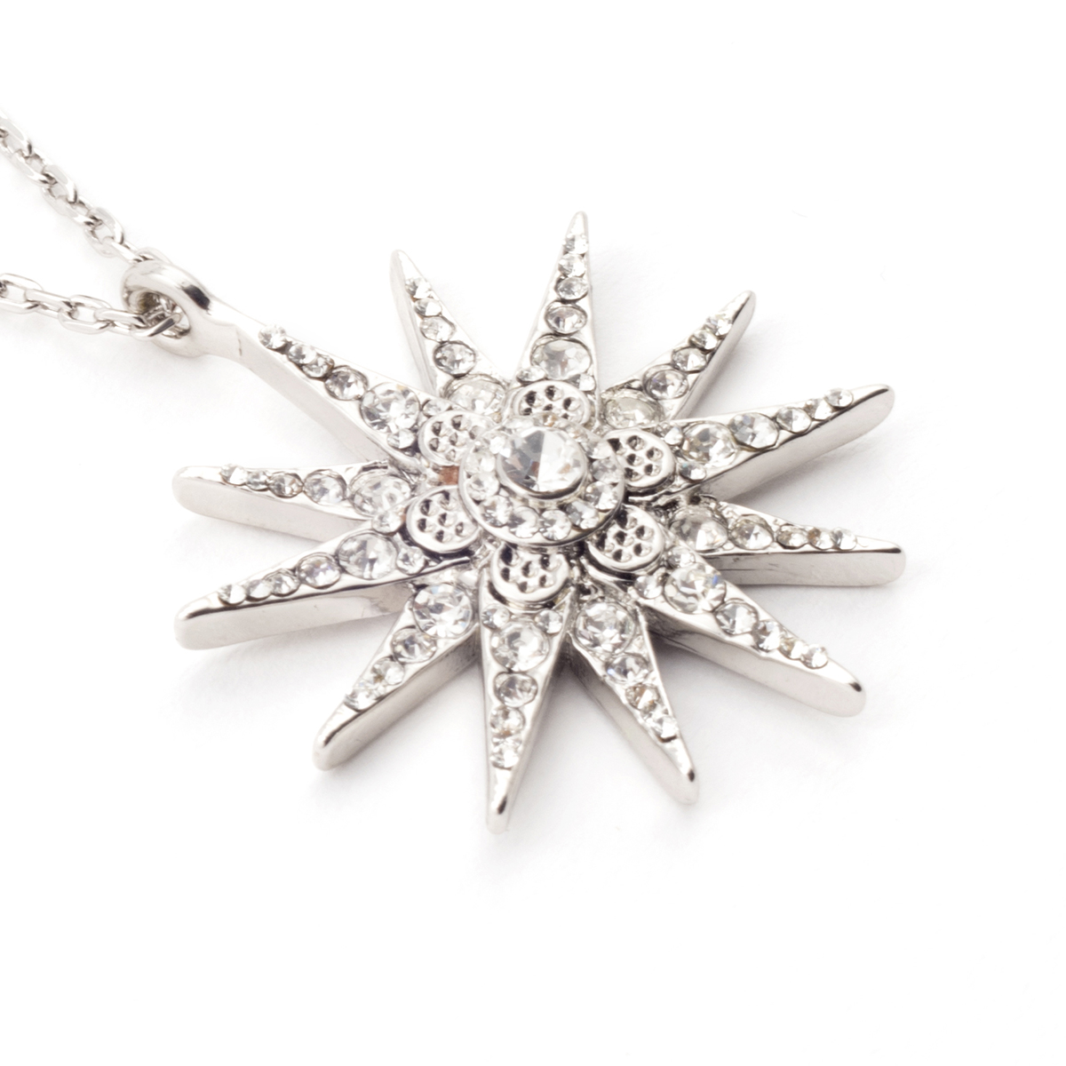 Star pendant necklace by Bill Skinner