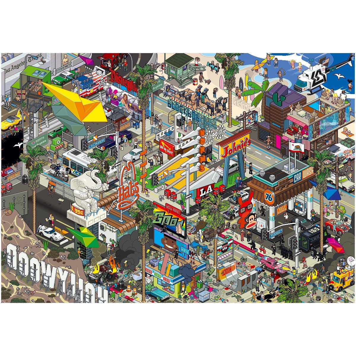 LA Pixel poster