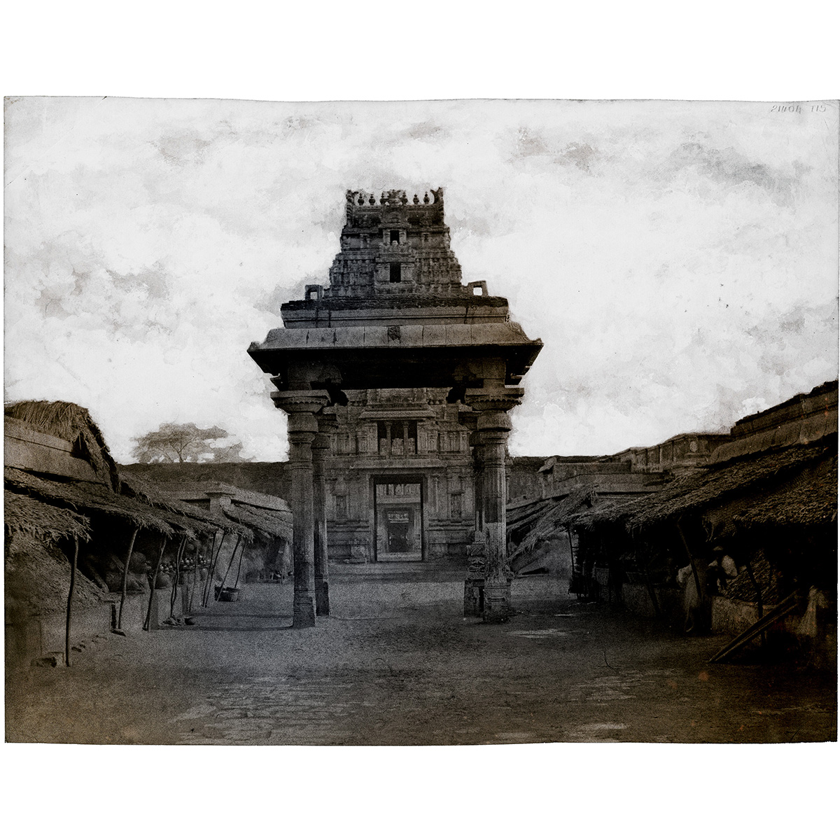 Tripe_12 (Seeringham. Munduppum inside gateway) by Thomas Ruff – Limited edition print