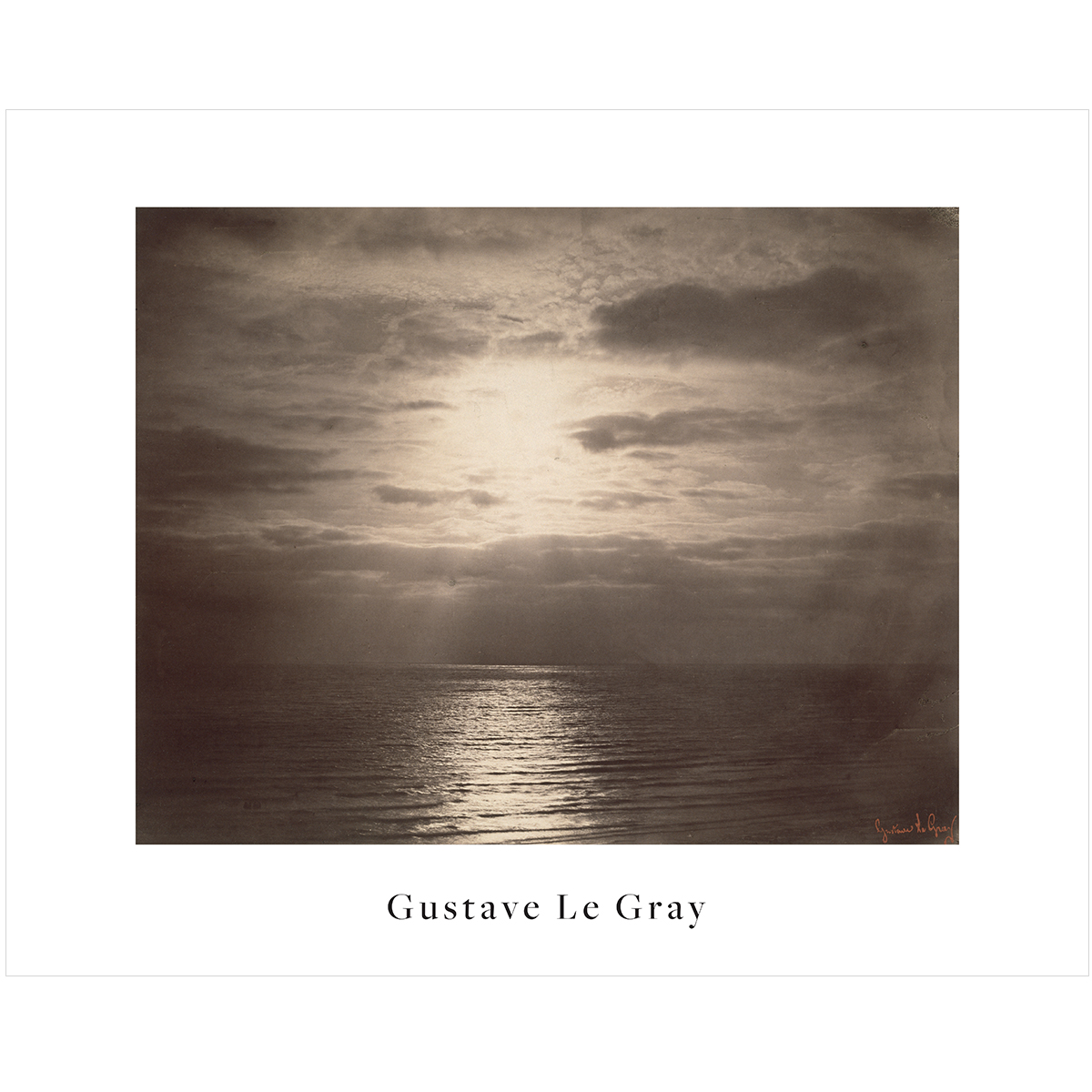 V&A Gustave Le Gray print