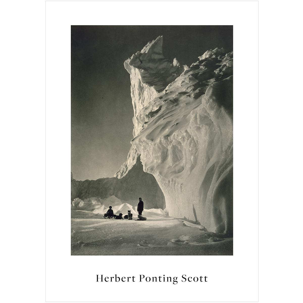 V&A Herbert Ponting print