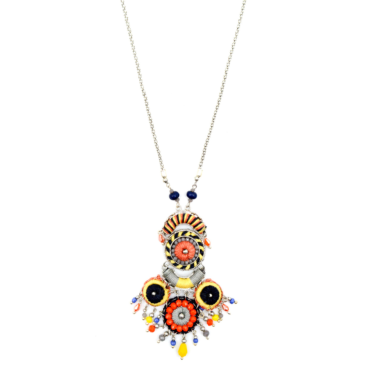 Ornate pendant necklace