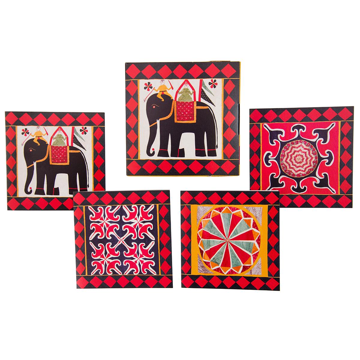 Indian textiles notecards