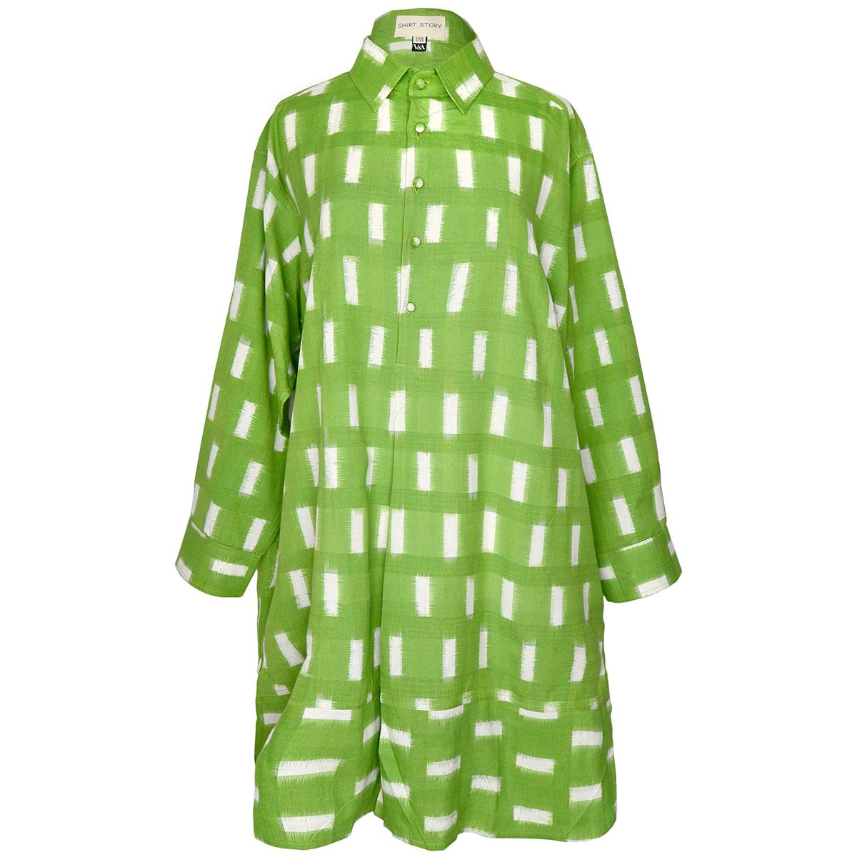Moss Ikat shirt