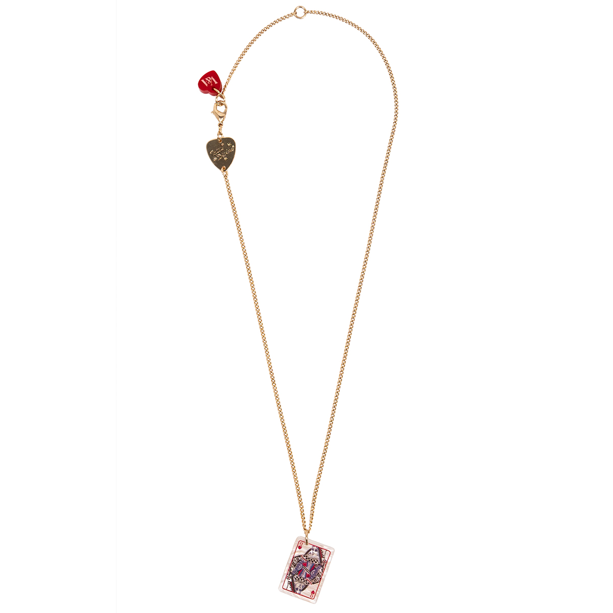 Queen of Hearts necklace by Tatty Devine
