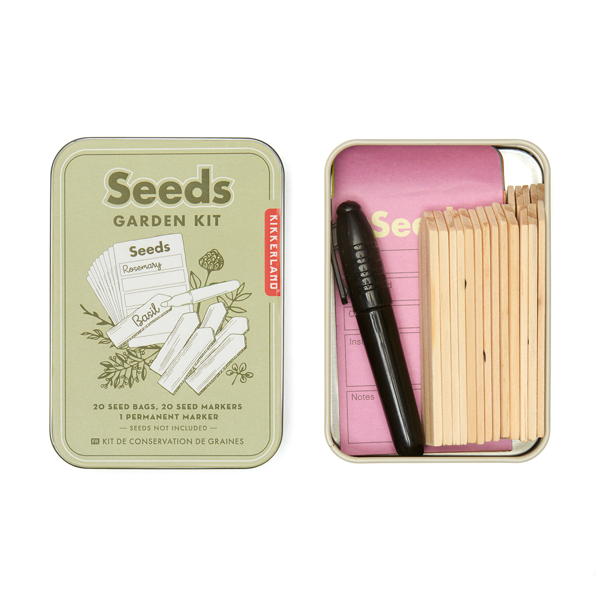 Seed labelling kit