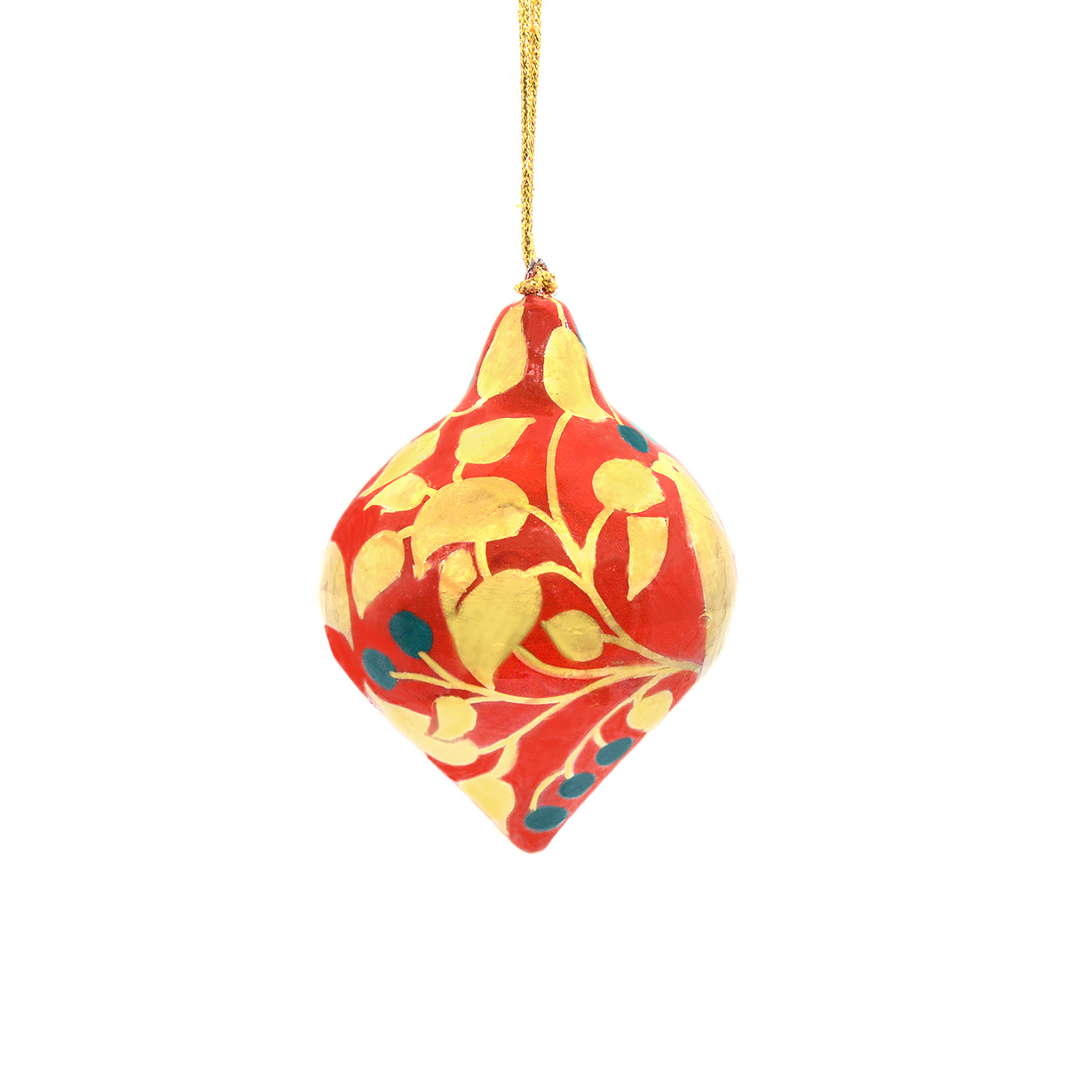 Red and gold lantern decoration