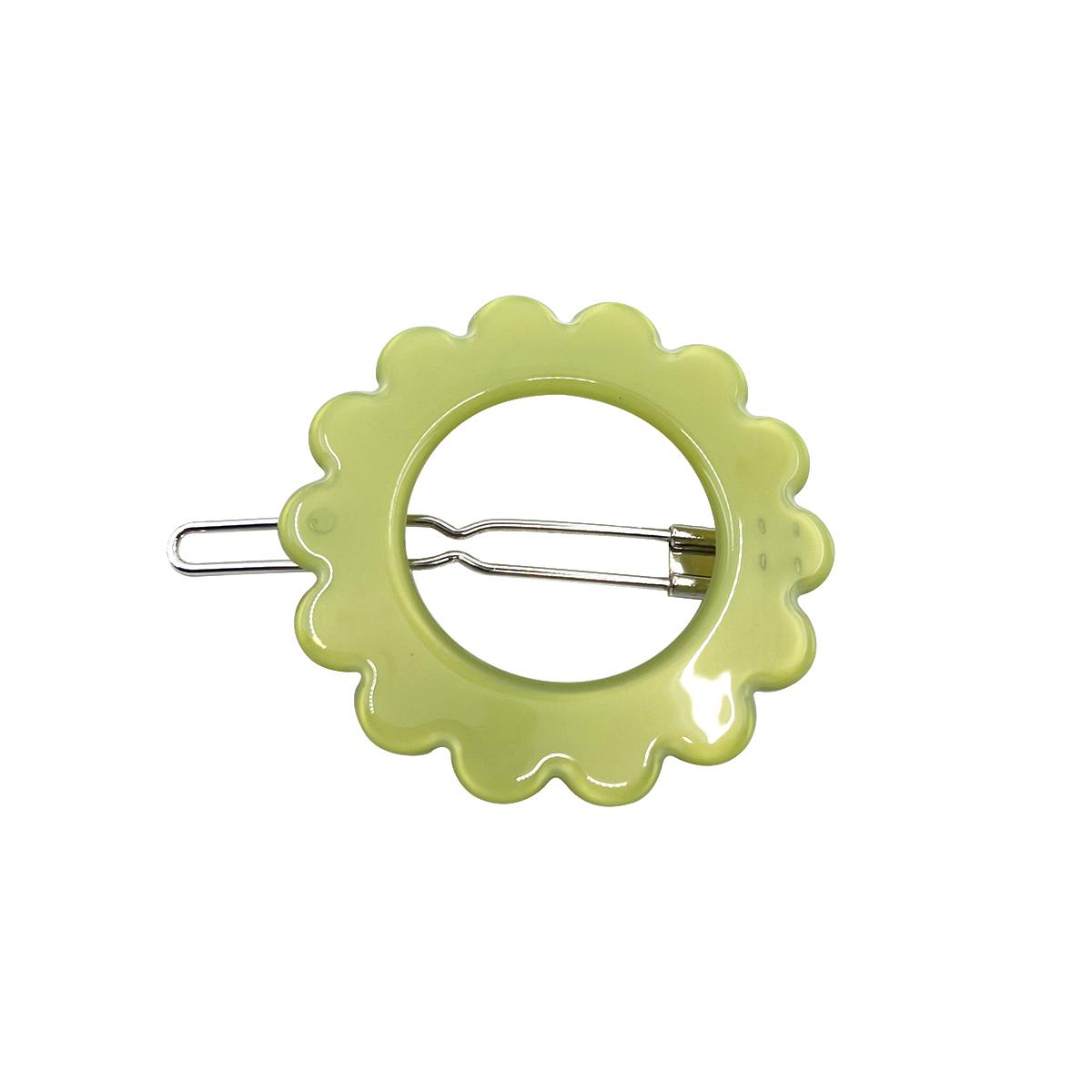 Green Copenhagen hair clip by Inky and Mole